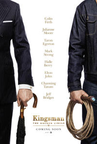 Kingsman: The Golden Circle poster art