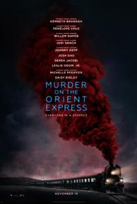 Murder On The Orient Express poster art