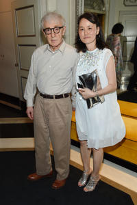 Woody Allen and Soon-Yi Previn at the New York premiere of