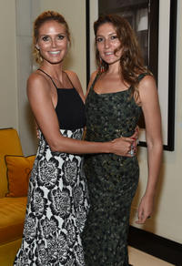 Heidi Klum and Stella Schnabel at the New York premiere of