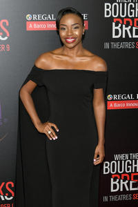 Rashia Whitlock at the California premiere of