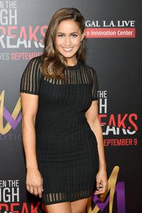 Jaina Lee Ortiz at the California premiere of