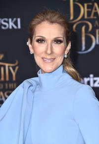 Celine Dion at the California premiere of