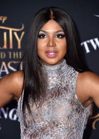 Toni Braxton at the California premiere of
