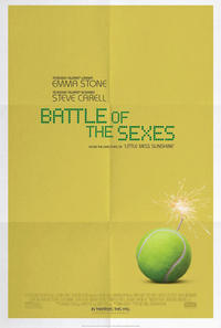 Battle of the Sexes poster art