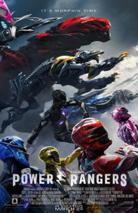 Power Rangers poster art