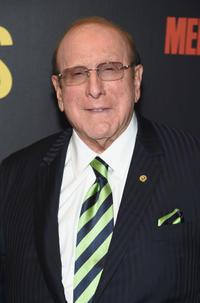 Clive Davis at the New York premiere of