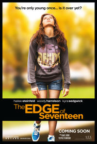 The Edge of Seventeen poster art