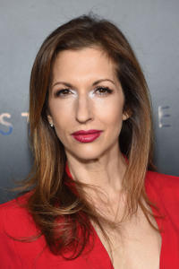 Alysia Reiner at the New York premiere of