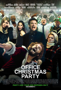 Office Christmas Party poster art