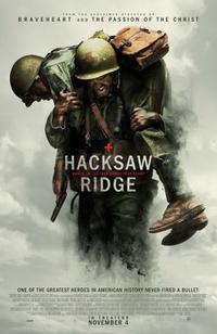 Hacksaw Ridge poster art