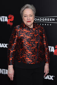 Kathy Bates at the New York premiere of