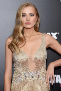 Tanya Mityushina at the New York premiere of