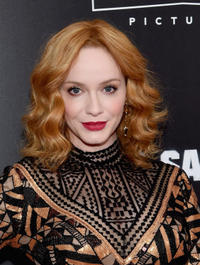 Christina Hendricks at the New York premiere of