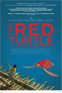 The Red Turtle poster art