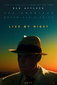 Live By Night poster art