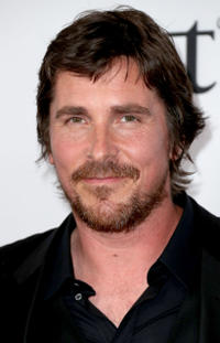 Christian Bale at the California premiere of