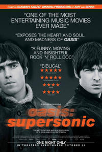 Oasis: Supersonic poster art