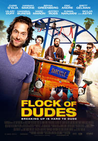 Flock of Dudes poster art