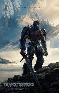 Transformers: The Last Knight poster art