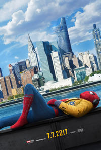 Spider-Man: Homecoming poster art