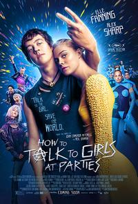 How To Talk To Girls At Parties poster art