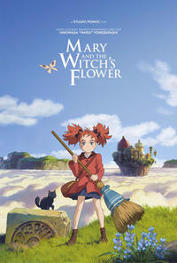 Mary And The Witch's Flower poster art