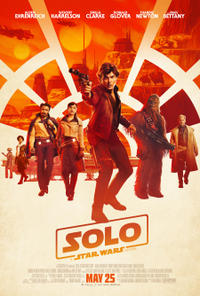 Solo: A Star Wars Story poster art