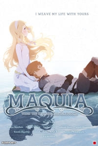 Maquia: When the Promised Flower Blooms poster art