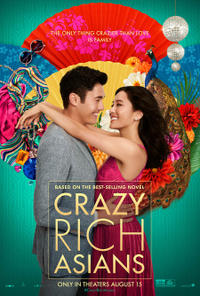 Crazy Rich Asians poster art