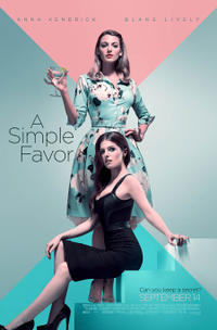 A Simple Favor poster art