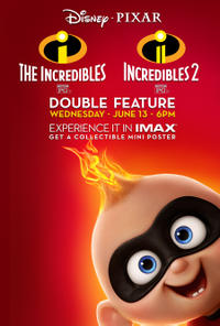 Incredibles Double Feature poster art
