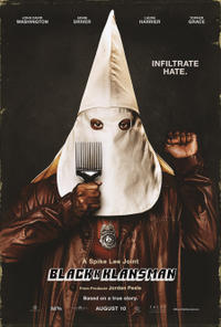 BlacKkKlansman poster art
