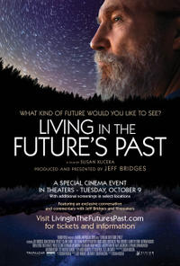 Living in the Future's Past poster art