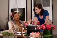 Queen Latifah and Anne Hathaway in