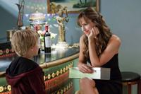 Bryce Robinson as Edison and Jennifer Garner as Julia Fitzpatrick in