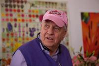 Director Garry Marshall on the set of