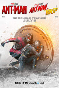 Double Feature - Ant-Man & The Wasp poster art
