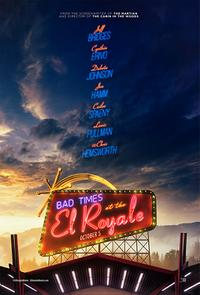 Bad Times at the El Royale poster art
