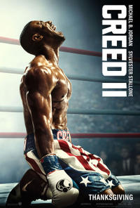 Creed II poster art