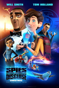 Spies In Disguise poster art