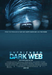 Unfriended: Dark Web poster art