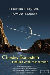 Chesley Bonestell: A Brush With The Future poster art