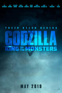 Godzilla: King of the Monsters poster art