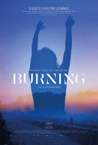 Burning poster art