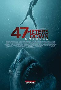 47 Meters Down: Uncaged poster art