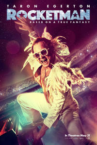 Rocketman poster art