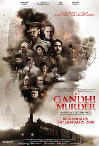 The Gandhi Murder poster art