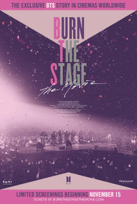 Burn the Stage: the Movie poster art
