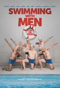 Swimming with Men poster art